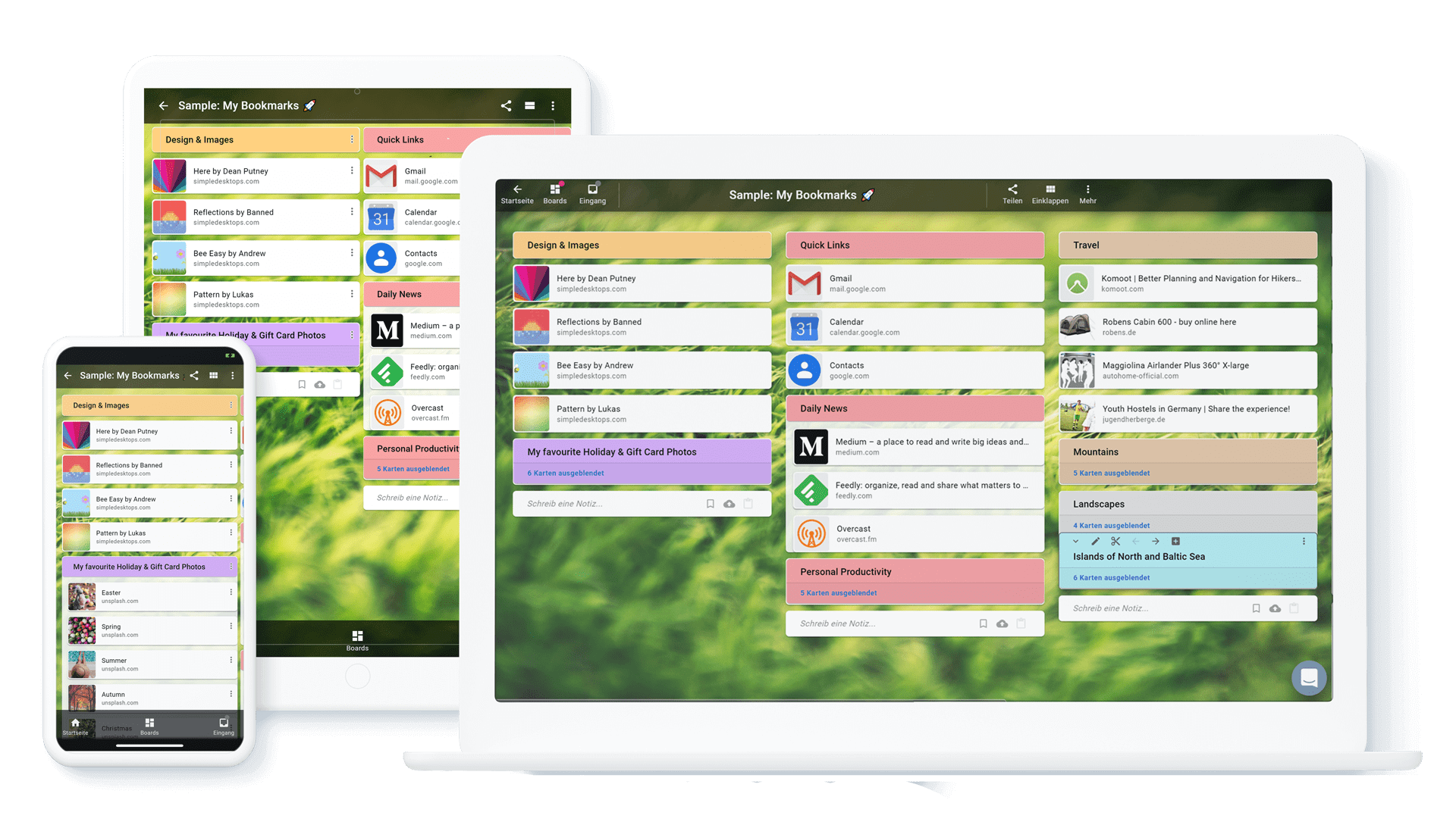 Cling - Your Notes, Links, Todos and Files in one App